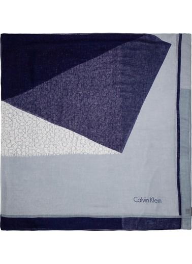 Calvin Klein Şal Mavi